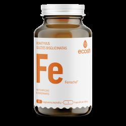 Maisto papildas Bioaktyvi Geležis su vitaminu C ECOSH 90 kaps.