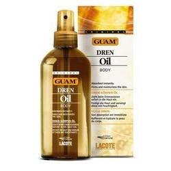 Drenuojančio poveikio neriebus masažo aliejus GUAM DREN OIL 200ml
