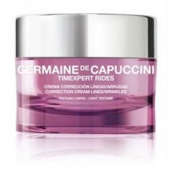 Koreguojamasis priešraukšlinis turtingos tekstūros kremas sausai odai Germaine de Capuccini TIMEXPERT RIDES 50 ml