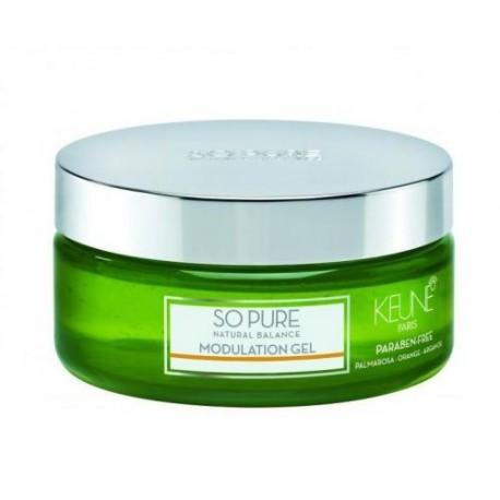 Želė plaukų modeliavimui Keune So Pure MODULATION GEL 200 ml