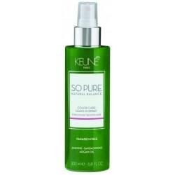 Nenuplaunamas kondicionierius plaukų spalvos apsaugai Keune So Pure COLOR CARE 200 ml