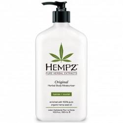 Drėkinantis kūno pienelis su augaliniais ekstraktais Hempz 500 ml