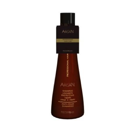 Stiprinantis ir plaukų pūtimąsi mažinantis šampūnas su argano aliejumi Harbor 250 ml
