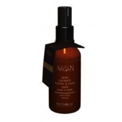 Stiprinantis ir plaukų pūtimąsi mažinantis purškiamas serumas su argano aliejumi Harbor 100 ml