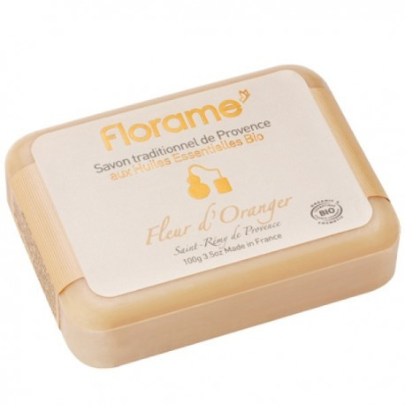 Florame apelsinų žiedų muilas 100 g