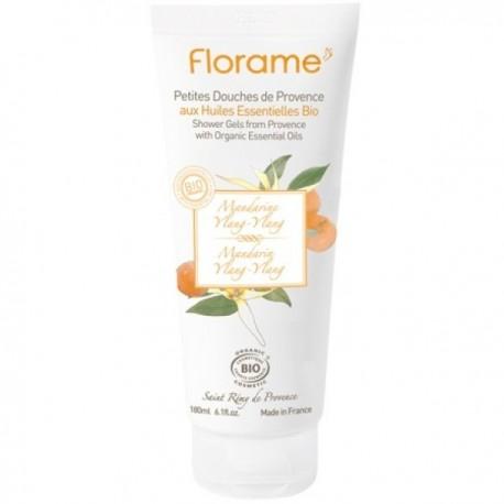 Florame provanso mandarinų - kvapniųjų kanangų dušo želė 180 ml