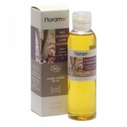 Masažinis aliejus lengvoms kojoms Florame 150ml