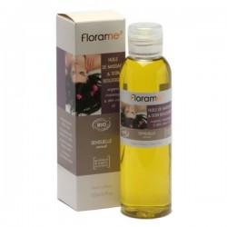 Masažo ir odos priežiūros aliejus jausmingas Florame 150ml