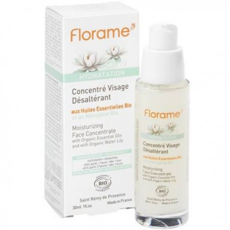 Florame drėkinamasis koncentratas veidui 30 ml