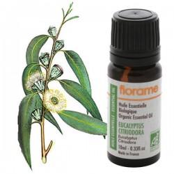 Citrinkvapių eukaliptų eterinis aliejus Florame 10ml