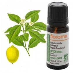 Distiliuotų citrinų eterinis aliejus Florame 10ml