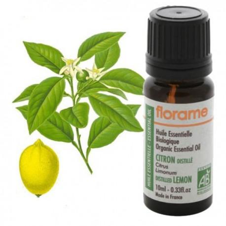 Distiliuotų citrinų eterinis aliejus 10 ml