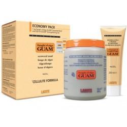 Anticeliulitinė dumblių kaukė GUAM 1 kg + Stangrinamoji Želė 250 ml