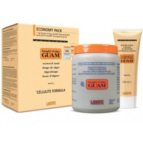 Anticeliulitinė dublių kaukė 1 kg + Želė 250 ml.