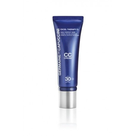 EXCEL THERAPY O2 defektus maskuojantis CC kremas su deguonimi (Beige) 50 ml