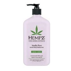 Drėkinantis kūno pienelis su vanilės, slyvų, augalų ekstraktais VANILLA PLUM HERBAL BODY MOISTURIZER 500 ml