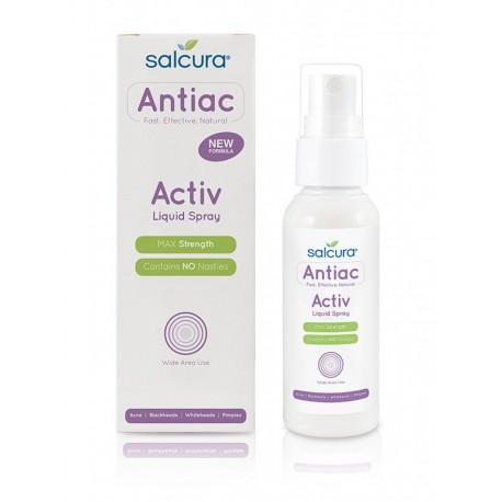 Salcura Priemonė nuo spuogų Antiac Activ liquid spray 100 ml