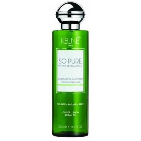Šampūnas skatinantis plaukų augimą Keune So Pure ENERGIZING
