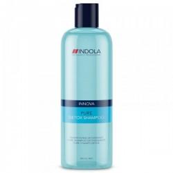 Giliai valantis šampūnas Indola Pure Detox