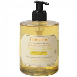 Florame citrinų - arbatmedžių valomasis skystasis muilas 500 ml