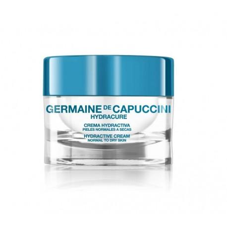 Drėkinamasis kremas normaliai-sausai odai  Germaine de capuccini HYDRACURE 50 ml