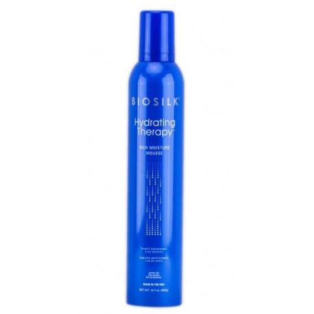 Drėkinančios plaukų putos Biosilk Hydrating Therapy Rich Moisture 360 g