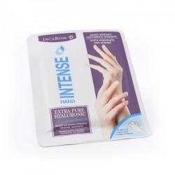Vienkartinė drėkinanti bei maitinanti kaukė-pirštinės rankoms INCAROSE INTENSE HAND PACK 2x8 ml