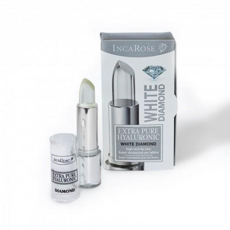 Permatomi lūpų dažai-blizgesys ypatingam drėkinimui INCAROSE WHITE DIAMOND 4 ml