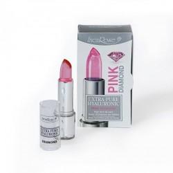 Permatomi lūpų dažai-blizgesys ypatingam drėkinimui INCAROSE PINK DIAMOND 4 ml