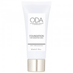 Maskuojamasis jautrios odos kremas ODA Foundation for sensitive skin Nr. 1 ir Nr. 2 30 ml