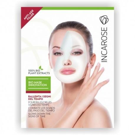 Vienakartinės Bio-Kaukės veidui ir kaklui Incarose Bio-mask