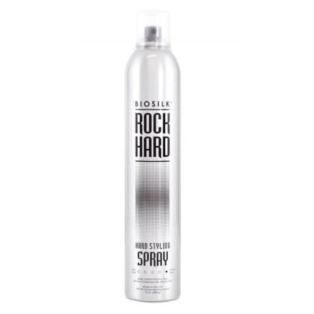 Stiprios fiksacijos plaukų lakas BioSilk Rock Hard 284g