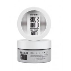 Stiprios fiksacijos plaukų guma BioSilk Rock Hard Gum 54g