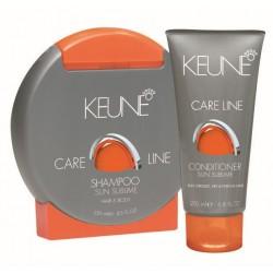 Rinkinys plaukams ir kūnui atostogų metu Keune Sun Sublime Šampūnas + Kondicionierius