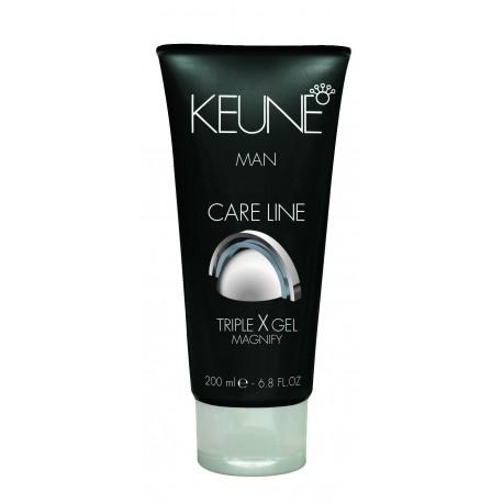 Stiprios fiksacijos želė plaukams Keune Care Line TRIPLE X GEL 200 ml