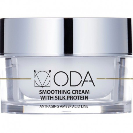 Glotninantis ODA kremas su šilko proteinais, Smoothing cream with silk protein 50ml