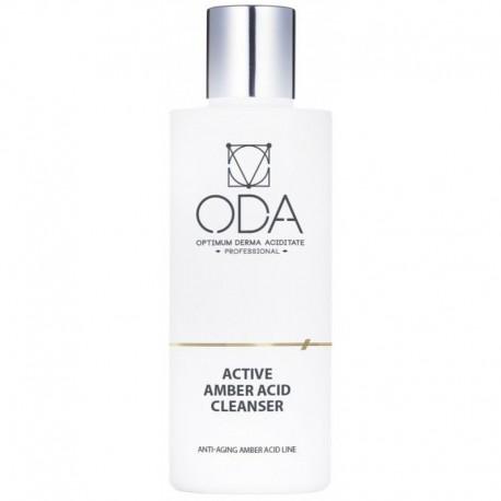 Aktyvusis ODA prausiklis su gintaro rūgštimi, Active cleanser with amber acid 200ml