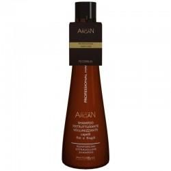 Stiprinantis ir apimties plaukams suteikiantis šampūnas su argano aliejumi Harbor 250 ml