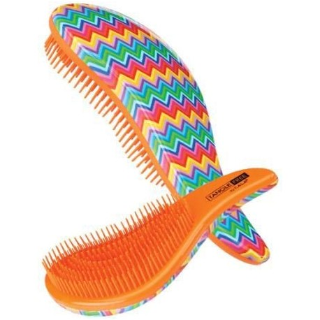 Šepetys besiveliantiems plaukams Cala Tangle Free Hair Brush Multi Zigzag