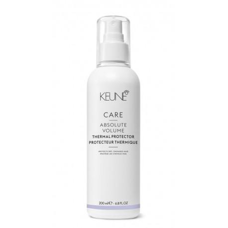 Plaukų apsauga nuo karščio KEUNE Care Line ABSOLUTE VOLUME 200ml