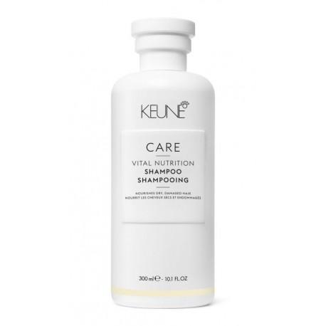 Šampūnas sausiems, pažeistiems plaukams KEUNE Care Line VITAL NUTRITION