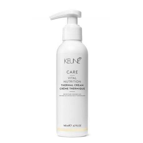 Kremas saugantis plaukus nuo karščio KEUNE Care Line VITAL NUTRITION Thermal Cream 140ml