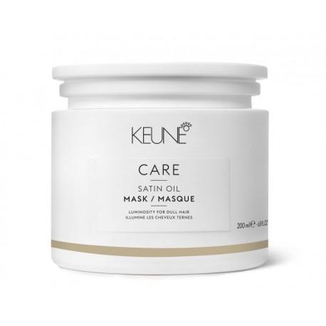 Kaukė sausiems porėtiems plaukams KEUNE Care Line SATIN OIL