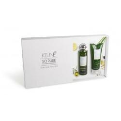 Rinkinys efektyviam plaukų drėkinimui Keune So Pure  MOISTURIZING (Šampūnas 250ml ir Kondicionierius 200ml)