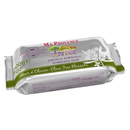 Natūralus alyvuogių žiedų muilas Ma Provence 200 g