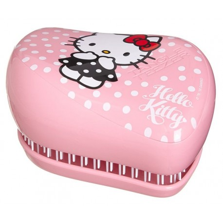Plaukų šepetys Tangle Teezer Compact Styler Hello Kitty Pink