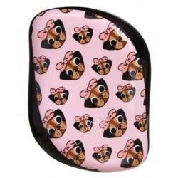 Plaukų šepetys Tangle Teezer Compact Styler Pug Love