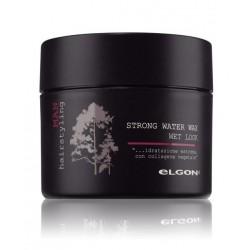 Šlapio efekto stiprios fiksacijos plaukų vaškas vyrams ELGON MAN Strong Water Wax 100ml