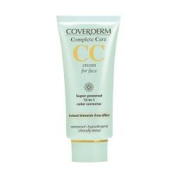 Veido odos atspalvį koreguojantis kremas Coverderm CC Cream for face 40ml