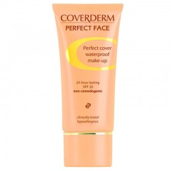 Maskuojanti kreminė pudra Coverderm Perfect Face 30ml